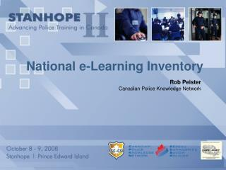 National e-Learning Inventory