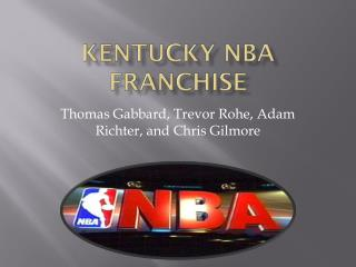 Kentucky NBA Franchise