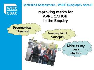 Improving marks for APPLICATION  in the Enquiry
