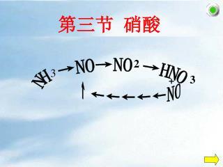 第三节 硝酸