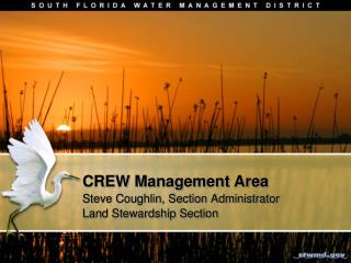 CREW Management Area