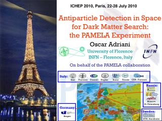 Antiparticle Detection in Space for Dark Matter Search:  the PAMELA Experiment