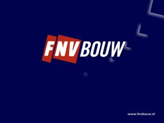 Werkconferentie FNV Bouw