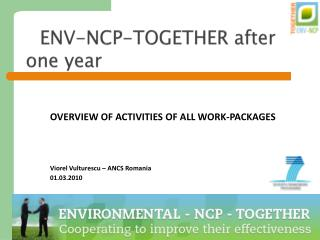 ENV-NCP-TOGETHER after one year