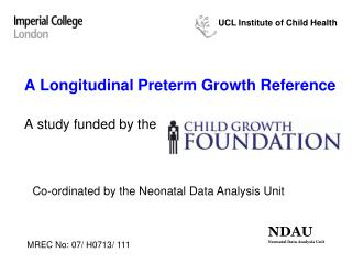 A Longitudinal Preterm Growth Reference