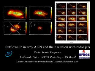 Outflows in nearby AGN and their relation with radio jets                 Thaisa Storchi Bergmann