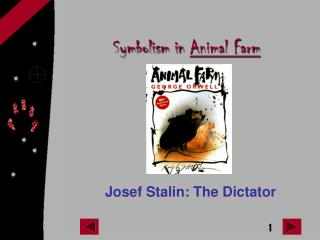 Symbolism in  Animal Farm