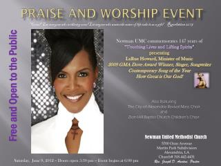 Praise and Worship Event