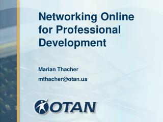 Networking Online for Professional Development