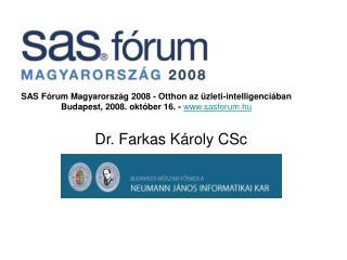 Dr. Farkas Károly CSc
