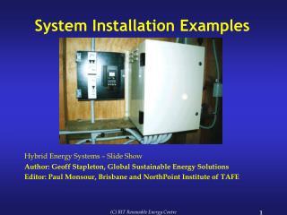 System Installation Examples