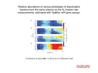 T Gro�kopf  et al. Nature 000 ,  1-4  (2012) doi:10.1038/nature11338