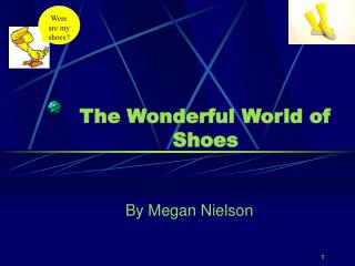 The Wonderful World of Shoes