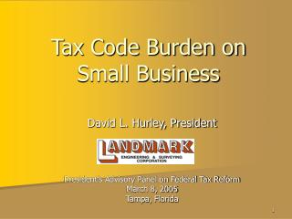 Tax Code Burden on Small Business