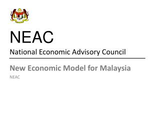 NEAC National Economic Advisory Council
