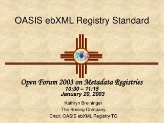 OASIS ebXML Registry Standard