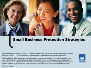 Small Business Protection Strategies