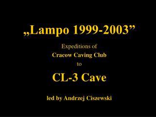 """Lampo 1999-2003"""