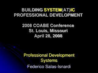 Professional Development Systems Federico Salas-Isnardi