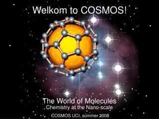 Welkom to COSMOS!