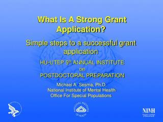 What Is A Strong Grant Application? Simple steps to a successful grant application