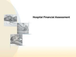 Hospital Financial Assessment
