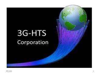 Intro 3G-HTC  Corporation