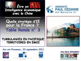 Aix-en-Provence, 23 septembre 2011