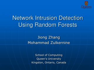 Network Intrusion Detection Using Random Forests
