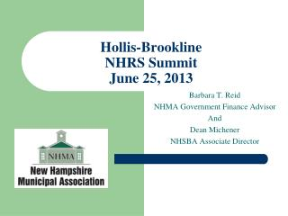 Hollis-Brookline NHRS Summit June 25, 2013