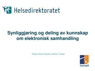 Synliggj ring og deling av kunnskap om elektronisk samhandling
