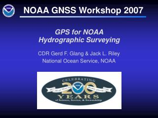 GPS for NOAA Hydrographic Surveying