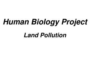 Human Biology Project