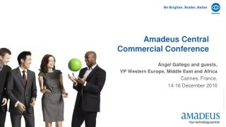 Amadeus Central  Commercial Conference