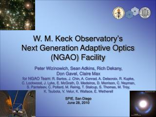 W. M. Keck Observatory's Next Generation Adaptive Optics (NGAO) Facility