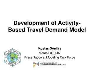 Development of Activity-Based Travel Demand Model