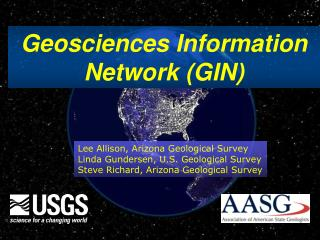 Geosciences Information Network (GIN)