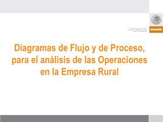 Diagramas de Flujo y de Proceso, para el análisis de las Operaciones en la Empresa Rural