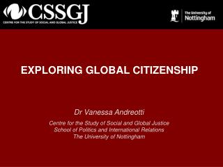 EXPLORING GLOBAL CITIZENSHIP