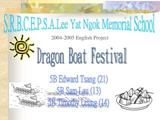 S.R.B.C.E.P.S.A.Lee Yat Ngok Memorial School