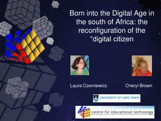 Born into the Digital Age in the south of Africa: the reconfiguration of the  digital citizen