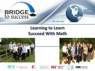 Learning to Learn Succeed With Math