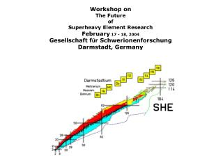 Workshop on The Future of Superheavy Element Research February  17 - 18, 2004