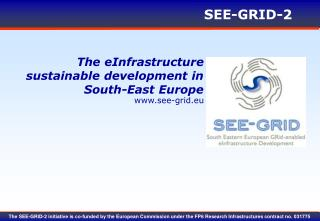The eInfrastructure sustainable development in South-East Europe