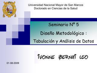 Universidad Nacional Mayor de San Marcos Doctorado en Ciencias de la Salud