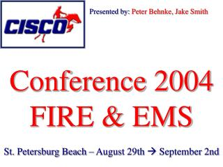 Conference 2004 FIRE & EMS