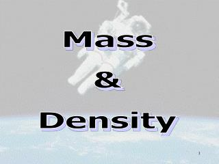Mass & Density