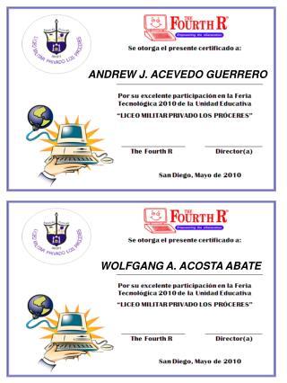 ANDREW J. ACEVEDO GUERRERO