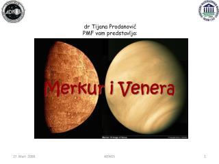 Merkur i Venera