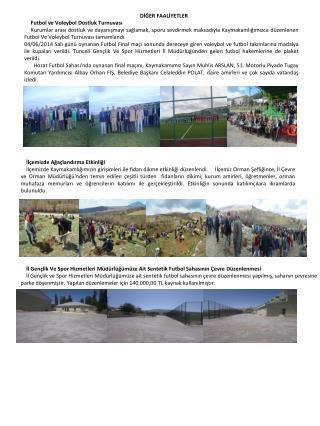 İl Gençlik Ve Spor Hizmetleri Müdürlüğümüze Ait Sentetik Futbol Sahasının Çevre  Düzenlenmesi